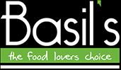 Basils Fine Foods Logo